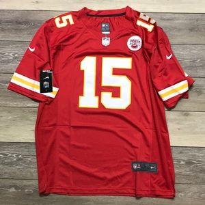 NWT Pat Mahomes KC Chiefs Red Nike Jersey Large